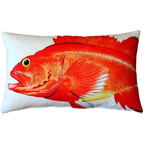 pillow fish rockfish fish pillow 12x20