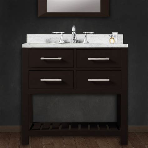 solid wood vanities for bathrooms water creation madalyn30 30 solid wood single sink