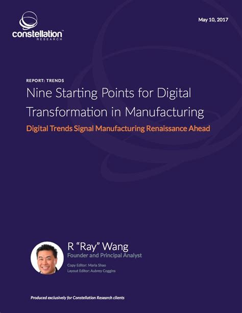 about r ray wang a software insiders point of view research summary nine starting points for digital