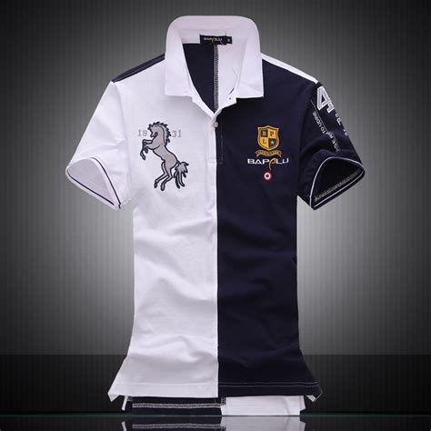 Polo T Shirt Persija embroidered logo brand militare polo shirts air one sleeve polos top