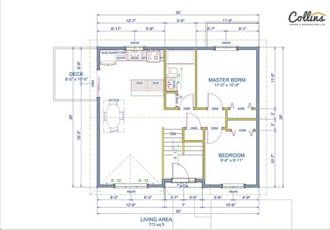 Tamarack Floor Plans tamarack floor plan main collins homes amp renovations ltd