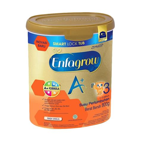 Enfagrow A 3 Vanila Madu 400 Gram Spek Harga Enfagrow A 4 Vanilla 1200 Gr Terbaru