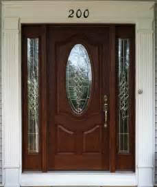 Fiberglass Front Door With Sidelights Small Oval Stained Fiberglass Door With Sidelights Fiberglass Doors