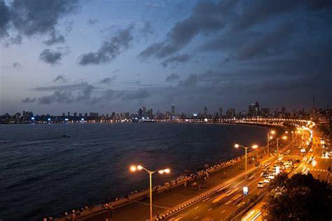 marine drive mumbai marine drive  night images hotels