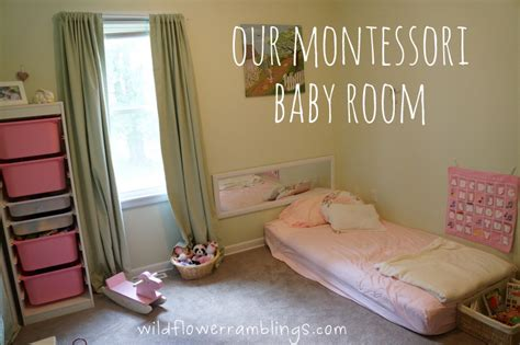 Our Montessori Baby Room Peter Rabbit Nursery Montessori Room