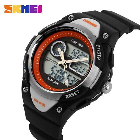 Traveller Tempat Jam Tangan Sport Isi 3 Black Crem skmei jam tangan anak ad1055 black white