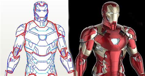 iron man mark diy foam template iron man armor patterns