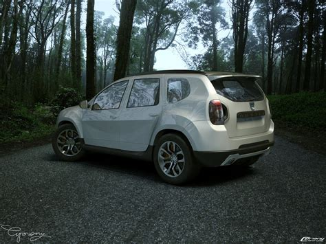 Comfortable 4x4 Dacia Duster Tuning 6 By Cipriany On Deviantart