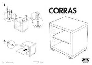 Ikea Pdf by Ikea Corras Nachttafeltje Furniture Download Manual For