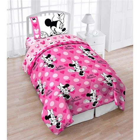 minnie bed set minnie mouse bedding and home decor for kids