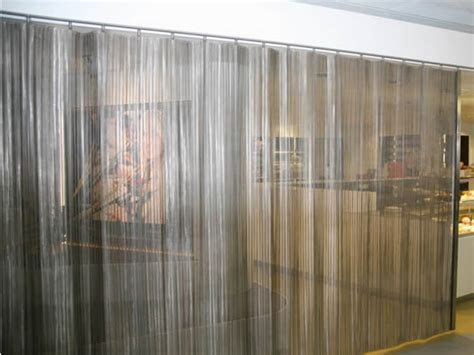 metal drapery gallery for gt mesh curtain