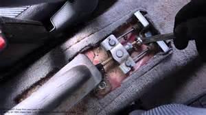 Peugeot 406 Handbrake Adjustment How To Adjust And Setup Brake Honda Civic Years 1992