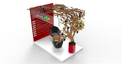 design mini booth coca cola hidratarte mini booth on behance