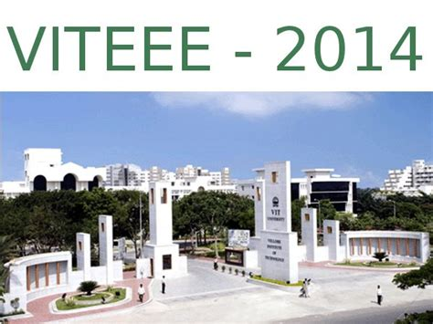paper pattern of viteee 2014 vit university issues viteee 2014 online application from