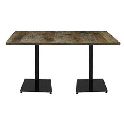 36 high table base kfi seating loft square steel base cafe table 36