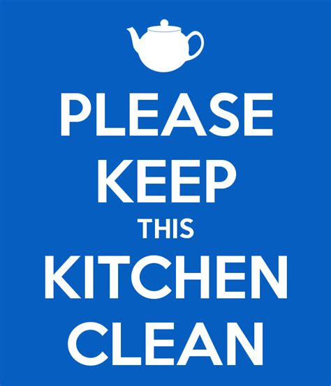keep kitchen clean please keep this kitchen clean poster angela keep calm