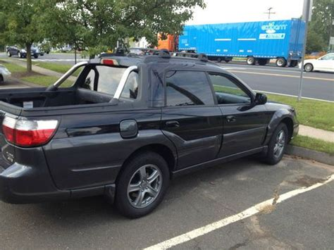 auto air conditioning service 2004 subaru baja electronic valve timing find used 2004 subaru baja turbo crew cab pickup 4 door 2 5l in wethersfield connecticut