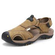 Promo Sandal Gunung Outdoor Pro Original Sandal Hiking Tipe Trexa high quality hook loop anti collision toe shock absorption outdoor hiking sandals newchic