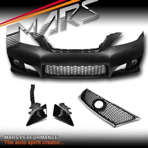 isf style grill front bumper bar for lexus isf style grill front bumper bar with fog lights for lexus is250 is350 gse20r 05 13 mars
