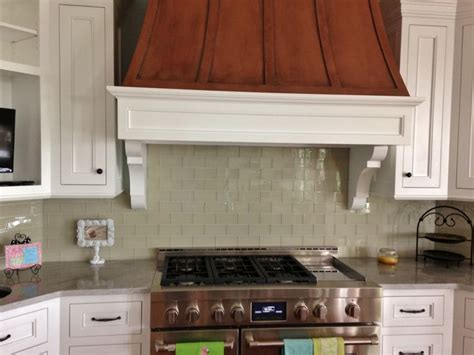 clean and simple 3x6 glass tile backsplash glass tile