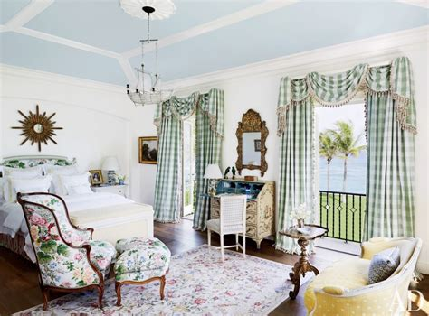 country bedroom curtains home tour palm beach mediterranean mansion shines for
