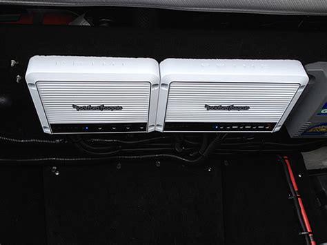 boat dock stereo system rims audio nj mobile installation marine boat wakeboard