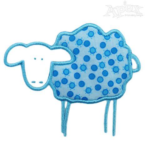 embroidery design lamb lamb applique embroidery design