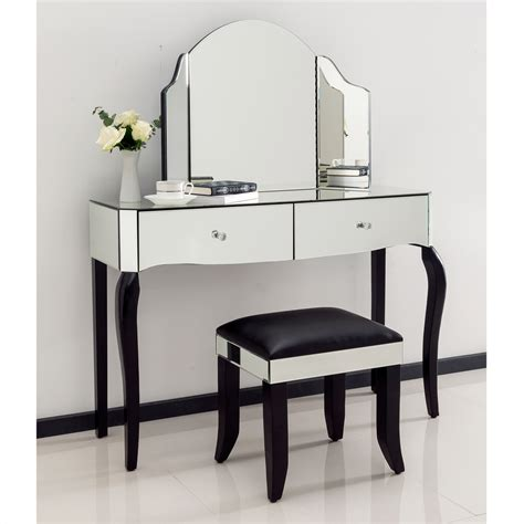 mirrored dressing table romano mirrored dressing table set venetian