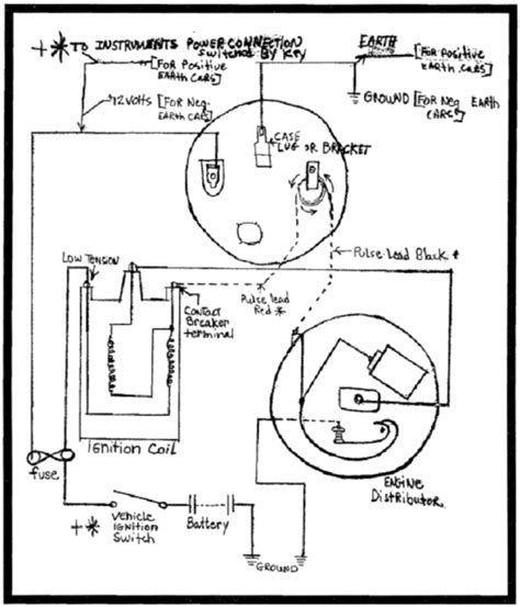 ford 302 distributor wiring diagram ford ignition module