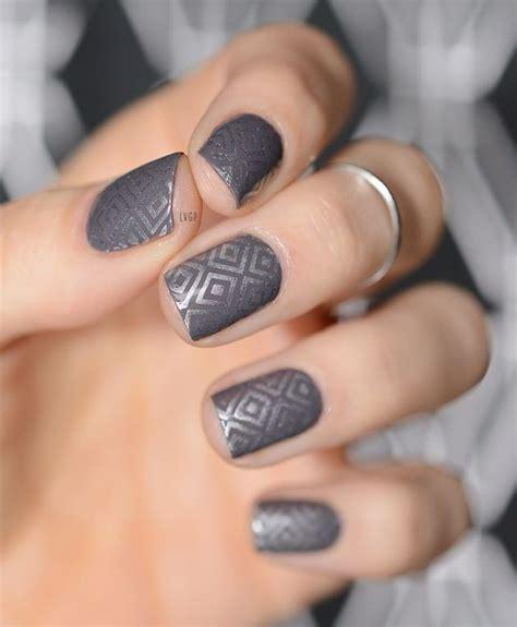grey nail designs  copy  fall