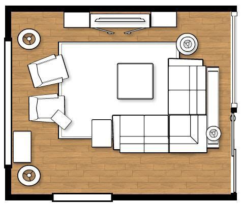 put furniture in floor plan 25 best ideas about living room layouts on pinterest