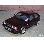 118 Otto Models Volkswagen Golf Mkii GTI 16S 1990 Black