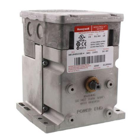 Honeywell M6184d1035 Modutrol m6184d1035 honeywell m6184d1035 24v non return foot mounted actuator with 150 lb in