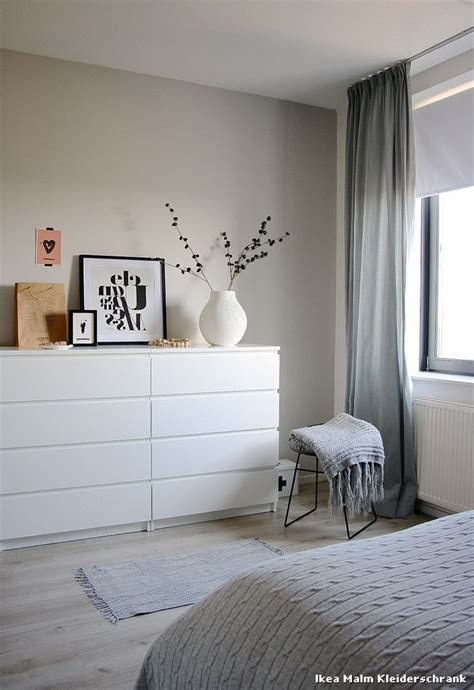 schlafzimmer deco ikea malm kleiderschrank skandinavisch schlafzimmer with