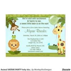 39 best jungle baby shower invitations images on jungle baby showers baby shower