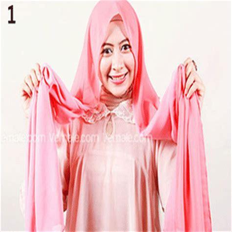 Kreasi Jilbab Terbaru kreasi jilbab segi empat moderen terbaru cara memakai jilbab aisyah