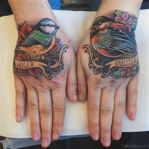 tattoo hand bird 43 fancy birds tattoos on hand