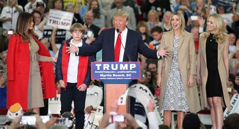 donald family pictures a family trumpsgiving in south carolina politico