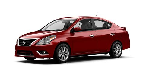 2015 Nissan Versa Sedan Sv Red Brick Details