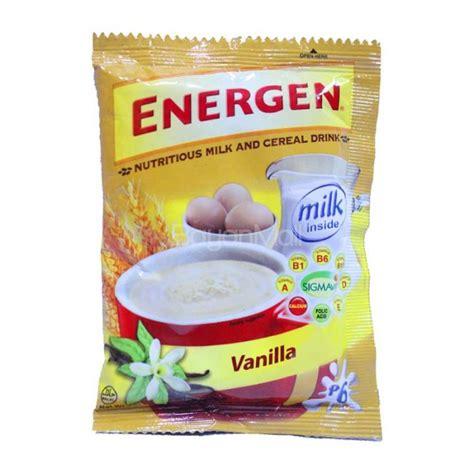 energen nutritious milk cereal drink vanilla 30g