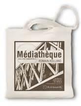 Meounes Bag sac livres mediatheque bibliotheque bibliotheques