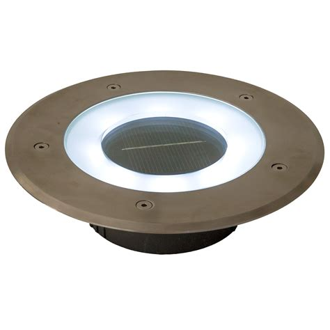 Commercial Solar 8 Inch Recessed Deck Dock Patio Pathway Solar Recessed Lights
