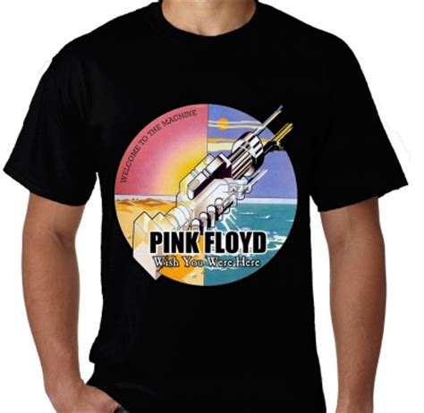 Kaos Wish You Were Putih Kaos Pink Floyd Wish You Were Here 1 Kaos Premium