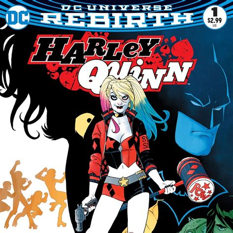 harley quinn the rebirth squad harley quinn batgirl and more get rebirth playlists dc