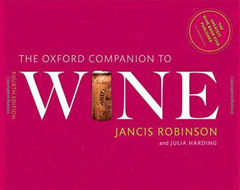 Pdf Oxford Companion Wine Companions by Travel Guides European Traveler