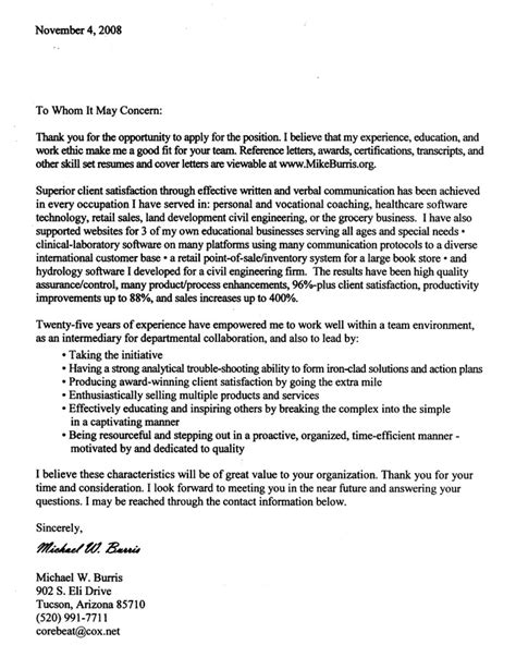 Cover Letter To Client Mike Burris Speaker Author Mikeburris Org Umakeitso