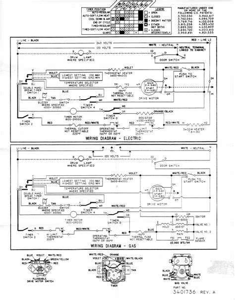 kenmore 76722 dryer wiring diagram