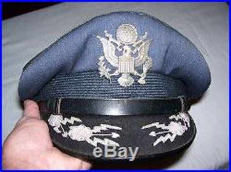 Korean Hat Pilot Hat Terlaris korean war usaf pilots silver with bullion insignia visor cap