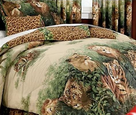 Bedcover Motif Leopard tiger and jungle theme bedding ease bedding with style