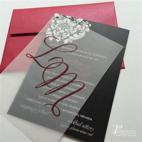 wedding invitations using vellum paper 1st impressions invitations vellum wedding invitations
